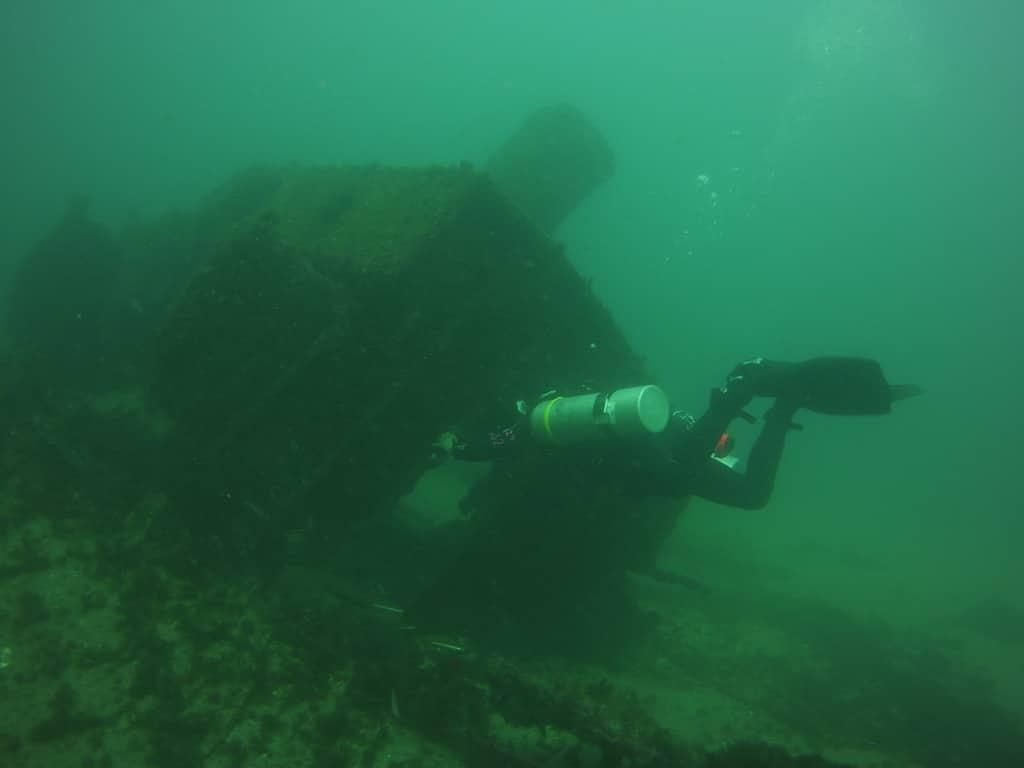 camp bay wreck