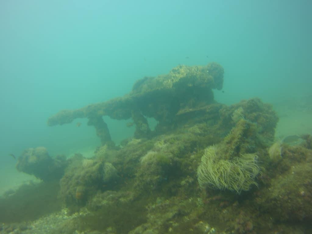 galeon wreck in san pedro de alcantara