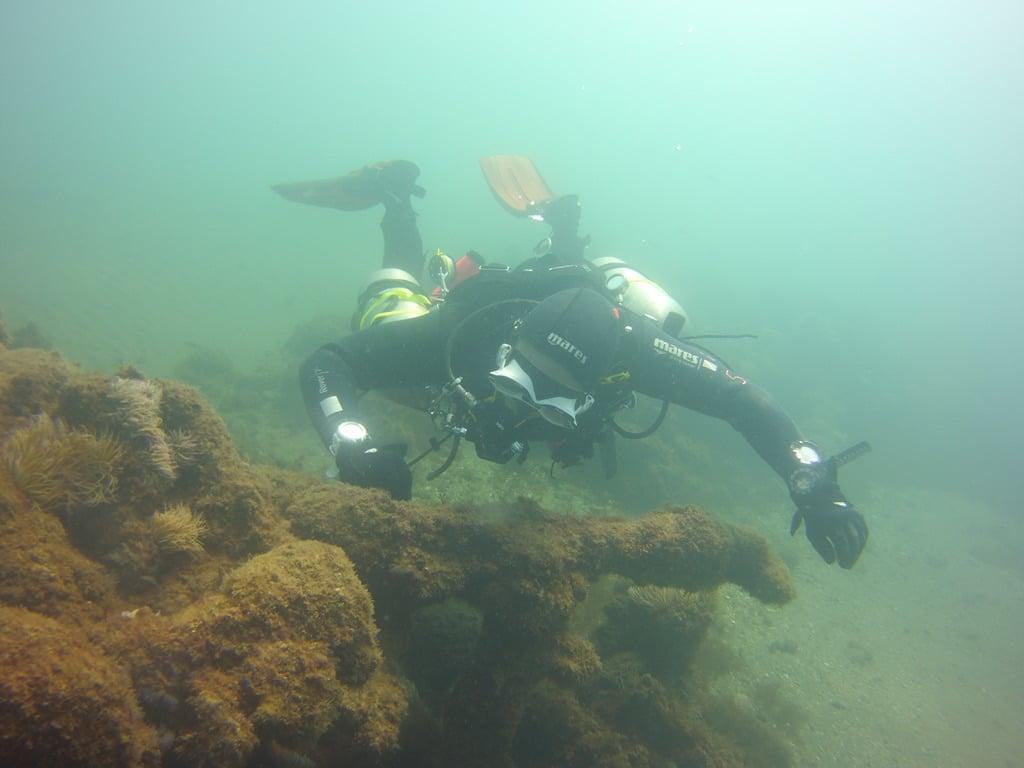 galeon wreck diving