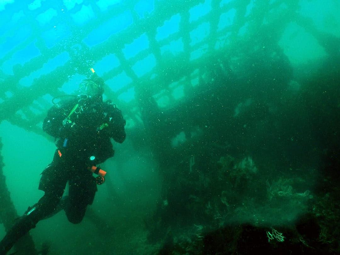 gibraltar wreck diving