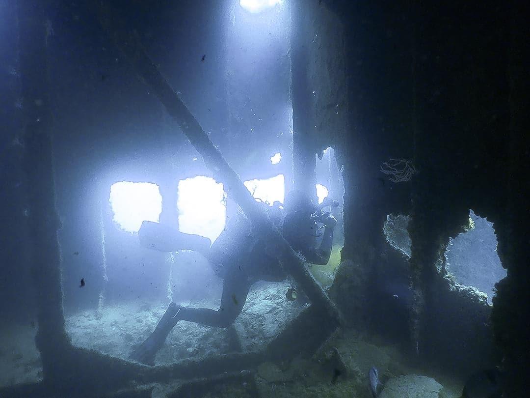 gibraltar wreck inside